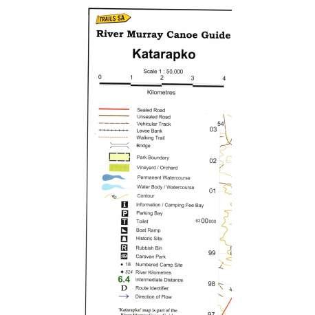 River Murray Canoe Guide- Katarapko