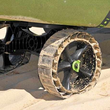 Trolley C-Tug with Sand Trakz wheels