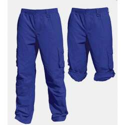 Blue Cargo Pants- Sun Protection UPF50+