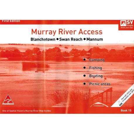 Murray River Access Guide 15 (Tangerine)  - Blanchetown to Mannum