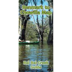 Ral Ral Creek Guide- Chowilla to Lock 5 Map