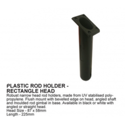 Flush mount rod holder oval - Kayak and boat