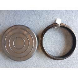 Round kayak hatch cover and rim - 9