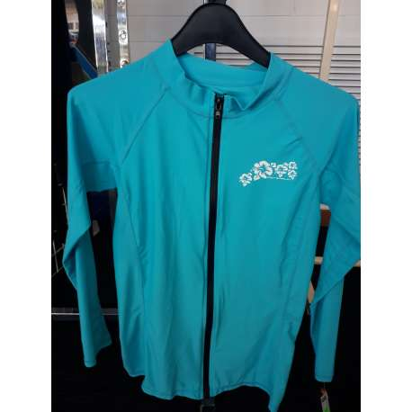 Adrenalin Ladies Long Sleeve Zip Rash Vest