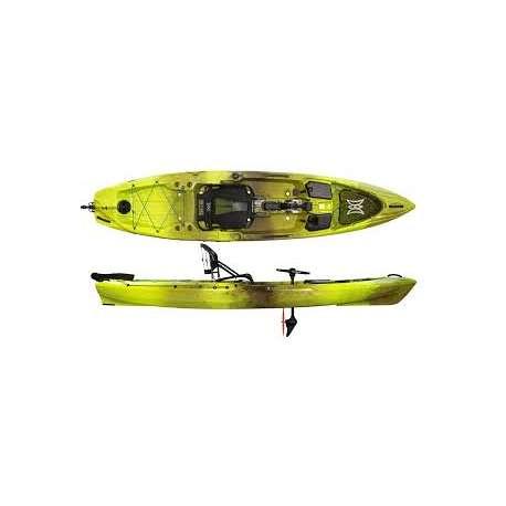 GRASSHOPPER - Perception Pescador Pilot 12.0 - Pedal Kayak -