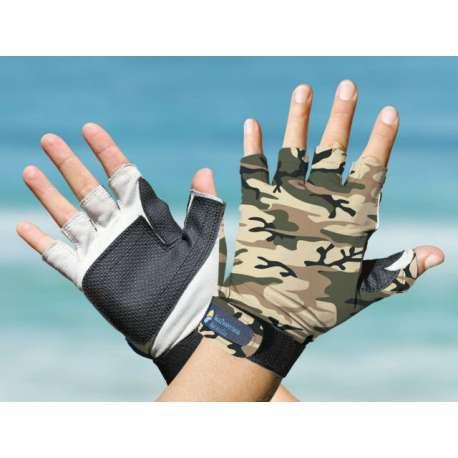 SunProtection Australia Sports Gloves Camo UPF50+