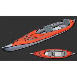 ADVANCEDFRAME® CONVERTIBLE (tandem) ELITE Inflatable KAYAK - Advanced Elements