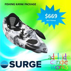 SURGE kayaks - BASS 9 FISHING KAYAK