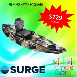 SURGE kayaks - BASS 9 PRO FISHING KAYAK -