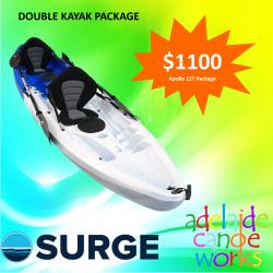 SURGE kayaks - APOLLO 12T (2+1) TANDEM KAYAK